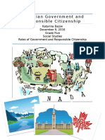 social studies unit- grade five government and citizenship