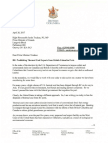 Christy Clark Letter to Justin Trudeau on coal exports