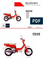 Catalogo de Partes Suzuki FZ50