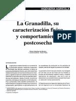 Caracterizacion de La Granadilla