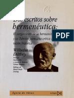 Dos escritos sobre hemeneutica.pdf