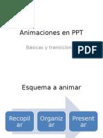 Animaciones en PPT