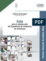 como elaborar expediente de evidencias 2016-2017.pdf