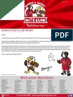 bernie   earny kids club march 2017 newsletter