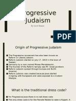 progressive judaism powerpoint sarah baqaie yr11