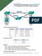 2.3.2.3 Lab - Configuring Rapid PVST+, PortFast, and BPDU Guard.docx