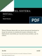 Teoría Del Sistema Social.