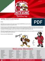 bernie   earny kids club april 2017 newsletter