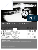 math- time unit