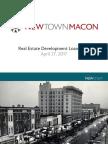 NewTown Macon Bond Fund Overview 4.27.17