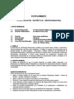 Silabo Restauradora y Estética - 2012 - Trujillo