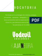 Convocatoria Vodevil Kaja