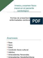 Anamnesis y Examen Fisico General en El Paciente
