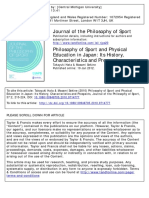 Philosophy of Sport and Physical Education