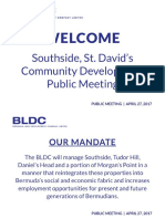 BLDC Public Meeting Display Boards