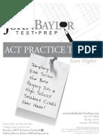 ACT Practice #8