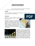 Actividad de Laboratorio 4 Poliuretano