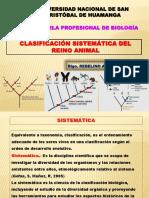 Clasificación Sistemática Del Reino Animal