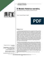 El Modelo Histórico-narrativo, UNA PROPUESTA PARA ESTUDIAR EL RIESGO EN SALUD