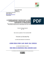 LA SIGNIFICACIÓN DE VYGOTSKI PARA LA CONSIDERACIÓN DE LO AFECTIVO EN LA EDUCACIÓN- LAS BASES PARA LA CUESTIÓN DE LA SUBJETIVIDAD.pdf
