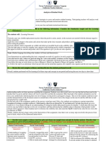skelton analysis of student work