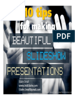 10 tips for making beautiful slideshow presentation.pdf