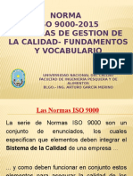 ISO 9000- 2015 1ra Clase Practica