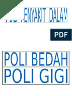Desain Nama Poli