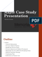 memorial major case study presentation