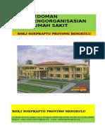 Pedoman Pengorganisasian Rs