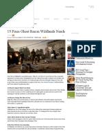 15 Fixes Ghost Recon Wildlands Needs - Features - Www.gameInformer
