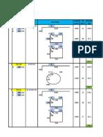 Bar Bending Schedule Column