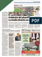Il Tirreno Livorno 28-04-2017 - Calcio Lega Pro
