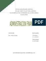 Trabajo Administracion Financiera