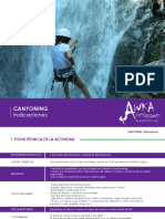 Indicaciones Canyoning AE_2016