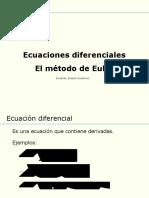 1 Ecuaciones Diferenciales