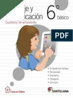 Cuaderno Actividades Lenguaje 6u00ba (1)