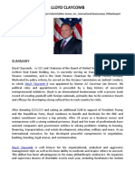 Lloyd Claycomb Resume - Diverse Professional