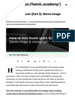 How to Mix Music - Our Essential Guide to Mixing (Part 3)