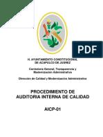 AICP-01 Auditoria Int Calidad