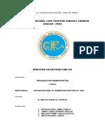 Monografia SNIP - Organizacion Administrativa