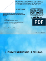 Mensajeros Químicos y Comunicación Celular