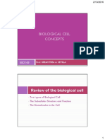 BIO149 the Biological Cell Concepts