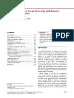 EFORT - 2014 - Calder - Tibial Varus Deformity and Blounts Disease