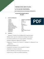 Ger.informatica Silabo