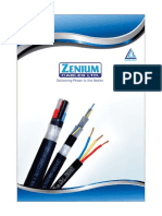 Zenium Cable Cataloug
