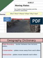 lesson 2 - plate boundaries