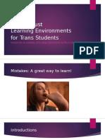 VCC Trans Workshop