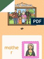T T 6167 Family Members Powerpoint