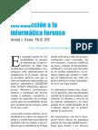 Introduccion Informatica Forence - jEIMY cANO Phd - ACIS